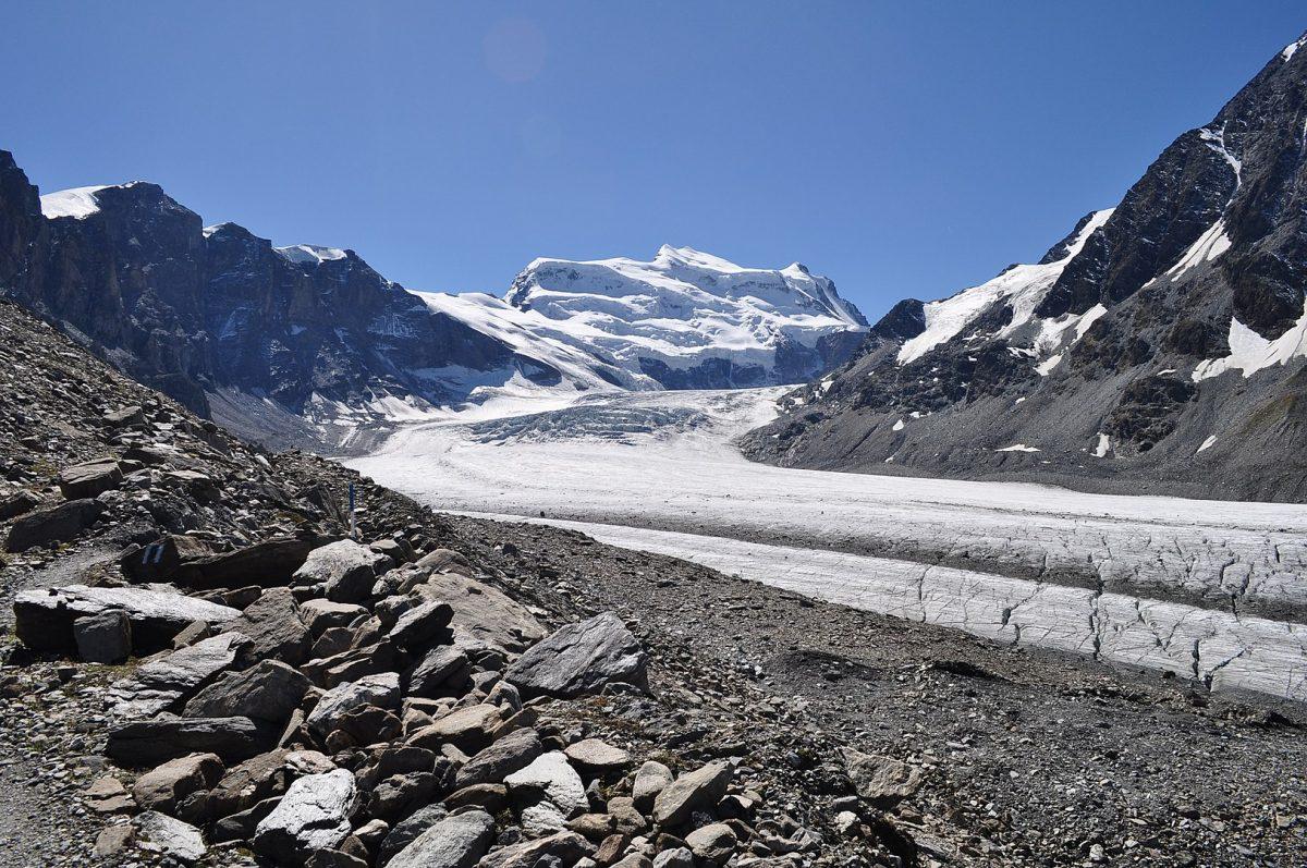 grand combin, ghiacciaio corbassiere