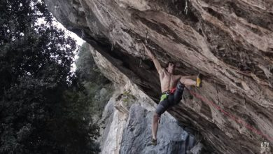 "Photo of Adam Ondra su ""Beginning"", 9a di Arco liberato da Ghisolfi post lockdown"