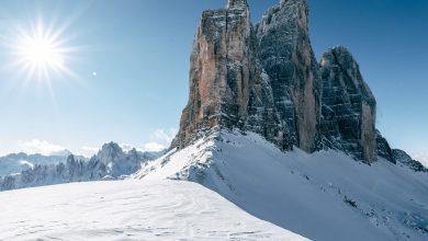 Photo of Le Tre Cime di Lavaredo già in veste invernale