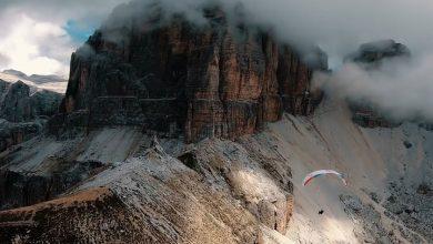 Photo of Aaron Durogati. Arrampicata e parapendio tra le vette delle Dolomiti