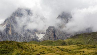 Photo of Pale di San Martino. Ghiacciaio della Fradusta e Travignolo in forte riduzione