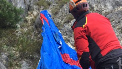 Photo of Alto Garda. Base Jumper muore lanciandosi da Cima Capi