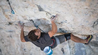 "Photo of Jonathan Siegrist realizza la prima salita del 9a+ ""Nu World"""