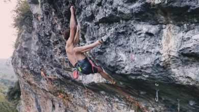 "Photo of ""Atene Naturale"", un nuovo 9a ad Arco per Adam Ondra"