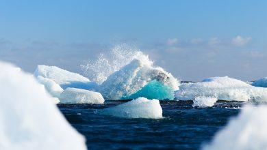 Photo of Mar Glaciale Artico. Formazione dei ghiacci in forte ritardo