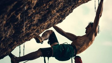 Photo of Adam Ondra in azione su Perfecto Mundo