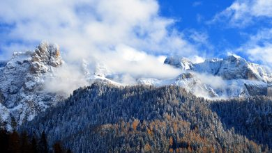 Photo of Nel weekend torna la neve sulle Alpi