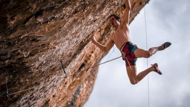 Photo of Adam Ondra e il meteo avverso a Margalef