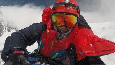 """Photo of Sergi Mingote sul K2 in inverno: """"Provo un mix di emozione e rispetto"""""""