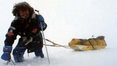 Photo of La traversata dell'Antartide di Reinhold Messner e Arved Fuchs