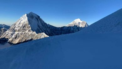 Photo of Nepal. Mingma Sherpa e Sophie Lavaud firmano la prima ascesa del Kyungya Ri II