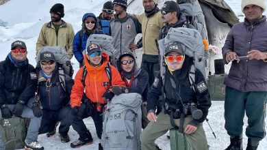 """Photo of Anche Nirmal al campo base del K2, domani si sale: """"Obiettivo fissare la via fino C4"""""""