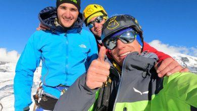 Photo of Cazzanelli e compagni aprono 3 nuove vie di misto moderno sulla nord della Gran Sommetta