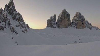 Photo of L'alba, le Tre Cime, un nuovo giorno