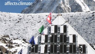 Photo of La Piramide dell'Everest in copertina su Nature Geoscience