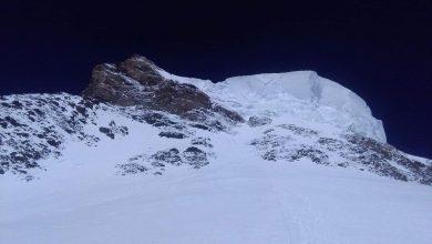Photo of K2. Raggiunti i 7800m, sono a C4