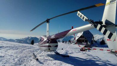 Photo of Valsassina. Salgono in elicottero al rifugio per una polenta al volo