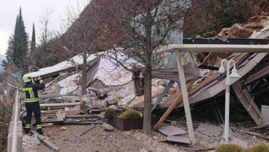 Photo of Bolzano, frana distrugge parte dell'hotel Eberle