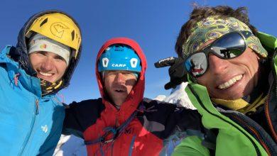 Photo of Monte Rosa: Cazzanelli, Ratti e Perruquet ripetono la via Castiglia alla Roccia Nera