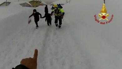 Photo of Campo Staffi isolata dalla neve. Abitanti evacuati con mezzi spazzaneve e elicottero