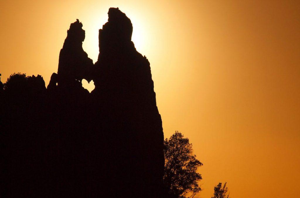 cuore, montagna, san valentino