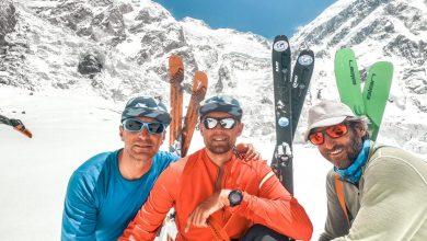 """Photo of """"Death Zone – Nanga Parbat"""". L'epica discesa sugli sci di Cala Cimenti, Vitaly Lazo e Anton Pugovkin"""