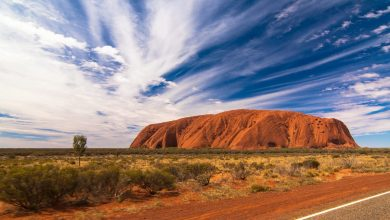 Photo of Rare ed effimere cascate di pioggia sul massiccio di Uluru