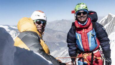 """Photo of """"Non è possibile salire in stile alpino"""": Vinayak Jay Malla e Tenji Sherpa rinunciano al Manaslu"""