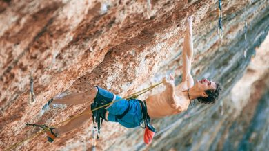 "Photo of Adam Ondra su ""Victimas Perez"", 9a da incubo a Margalef"
