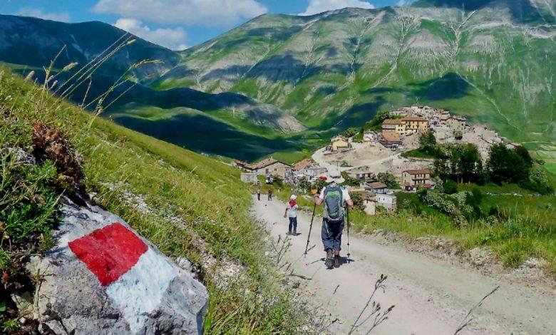 paesaggio, sentiero italia