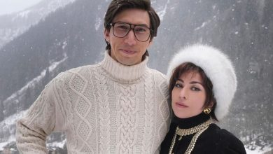 "Photo of Hollywood sale in quota. A Gressoney Lady Gaga e Adam Driver per ""House of Gucci"" di Ridley Scott"