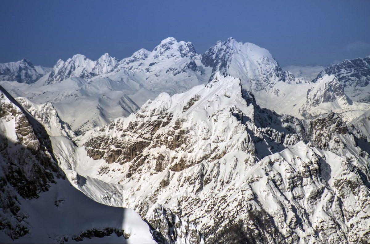 alpi giulie, neve, ghiacciai