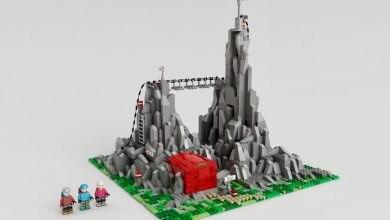 Photo of Le ferrate delle Dolomiti diventano un progetto LEGO