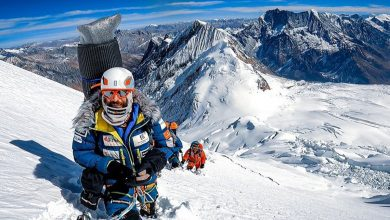 Photo of Alex Txikon chiude la spedizione al Manaslu