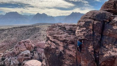 Photo of Alex Honnold in free solo su 3 vie multipitch di Red Rock