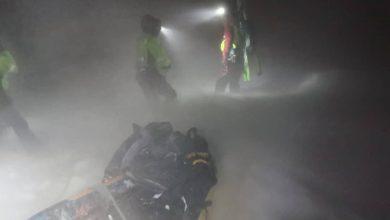 Photo of Scialpinista sorpreso da una bufera recuperato nella notte sul Bondone