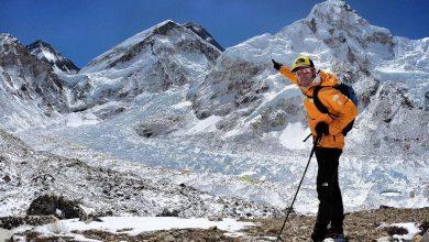 Photo of Kilian Jornet e David Gottler insieme sulla cresta ovest dell'Everest