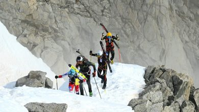Photo of Adamello Ski Raid. Vittoria per Bon Mardion-Hermann e Murada-Compagnoni