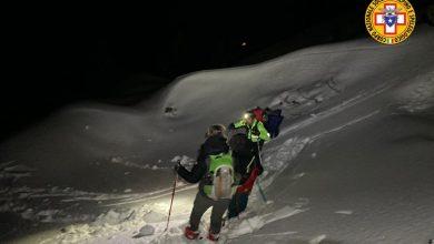 Photo of In montagna è ancora inverno. Soccorse due famiglie in difficoltà per neve e ghiaccio