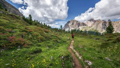 Photo of Si può andare in montagna nell'Italia zona arancione?
