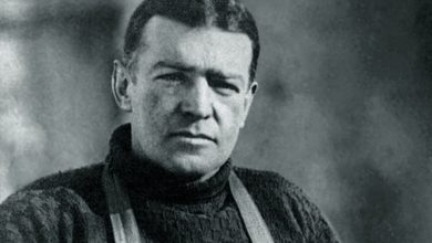 Photo of Ernest Shackleton