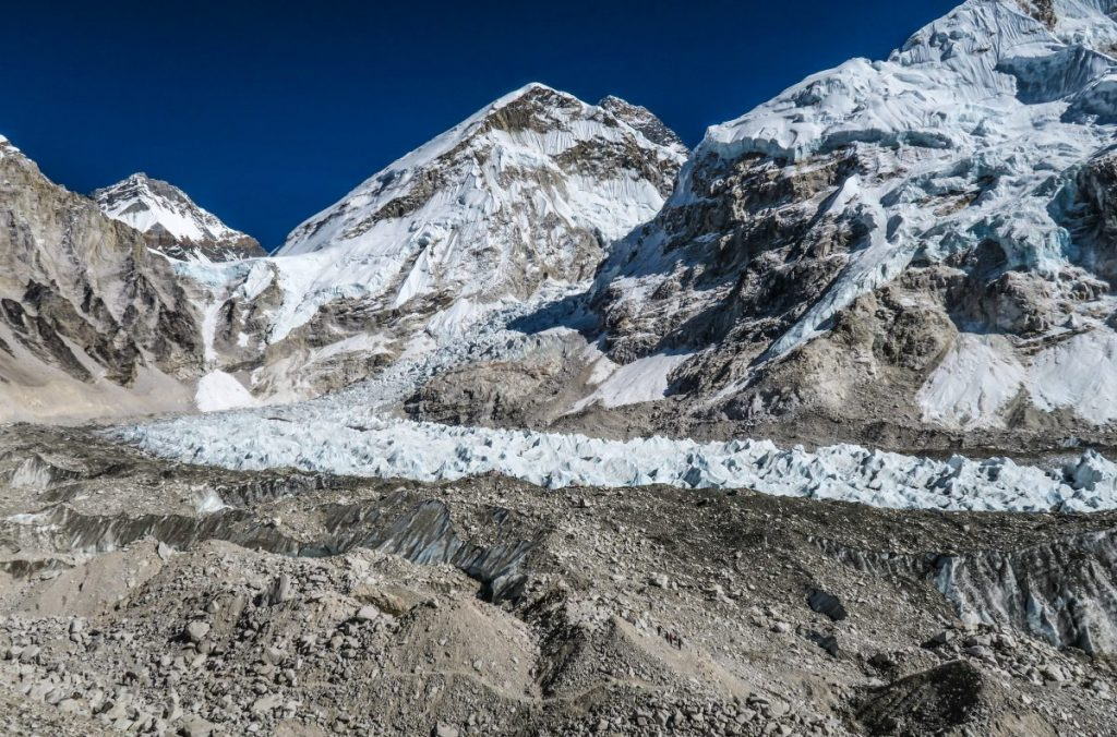 everest, khumbu icefall