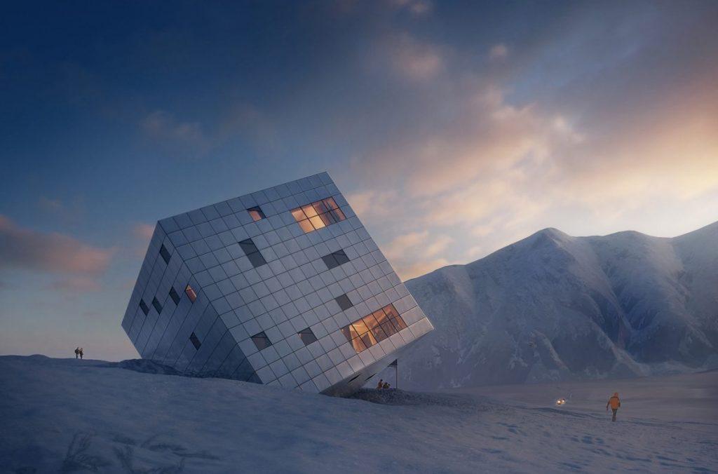 rifugi, rifugi alpini, architettura, design