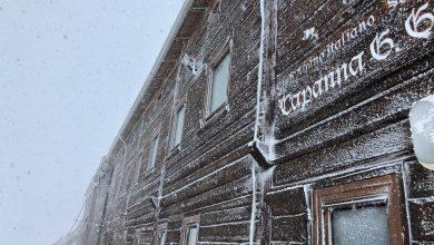 Photo of A Capanna Gnifetti è arrivato l'inverno