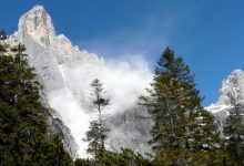 Photo of Pale di San Martino, nuova frana sulla Est del Sass Maor