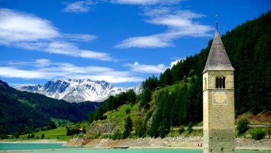 Photo of Lago di Resia, riaffiorano i resti della vecchia Curon