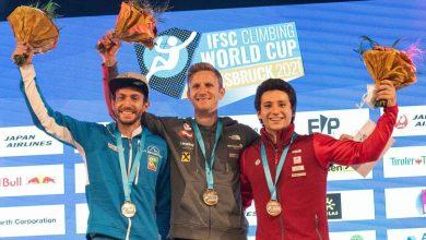 Photo of Coppa del Mondo di arrampicata sportiva: Stefano Ghisolfi sul podio a Innsbruck