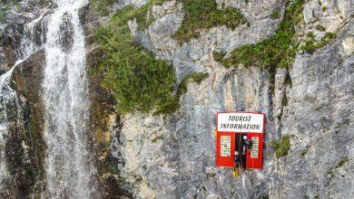 """Photo of Polemiche contro un'opera d'arte sulle Alpi austriache: """"Rovina paesaggio e selfie"""""""