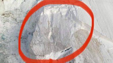 Photo of Monte Bianco, allarme sicurezza per rischio crollo del seracco dell'Aiguille du Midi