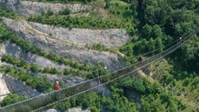 Photo of In Val Brembana un ponte sospeso da record